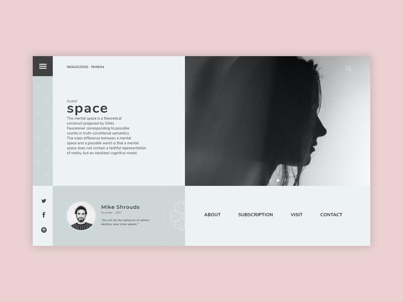 S P A C E // Mental Health trending concept graphics design uiuxdesign app mobile design webdesign website desktop mobile ui mobile ui design uidesign ui  ux uiux ui