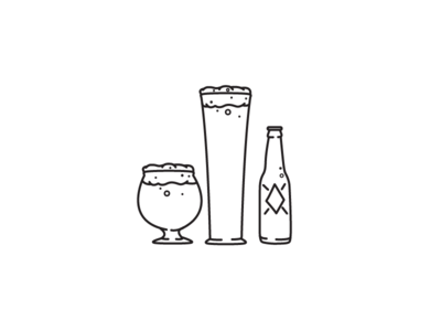 Beer, anyone? beer illustration iconography