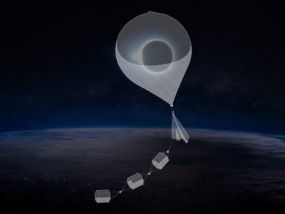Stream Eclipse Balloon Dribbble ux ui sun space nasa moon illustration eclipse earth animation