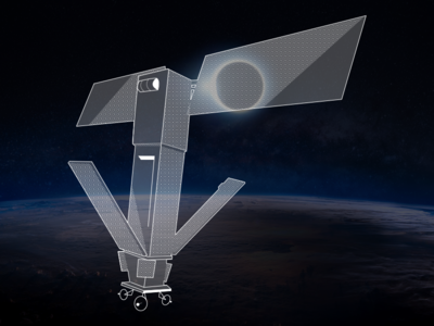 Stream Eclipse Satellite ux ui sun space nasa moon illustration eclipse earth animation
