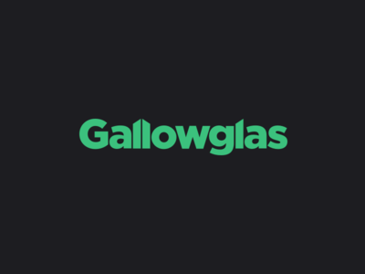 Gallowglas Lockup irish gotham type typography logotype gallowglas branding vector brand logo illustration
