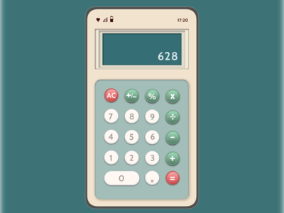 Daily UI--Calculator