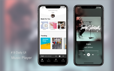 #9 Daily UI--Music Player