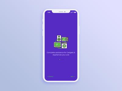 Servify App - Onboarding Screen