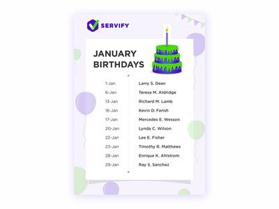 Team Birthday Creative Design