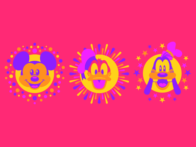 Mickey Donald & Goofy disneyland disney art disney goofy donald mickey