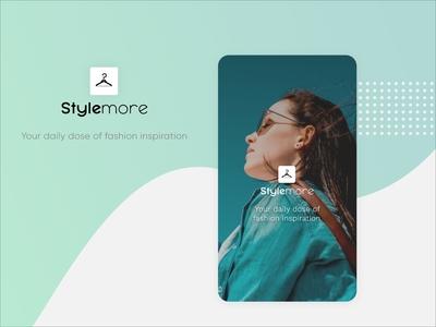 Splash Screen - Fashion Mobile App | StyleMore