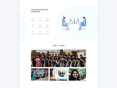 About us page - Agency Website