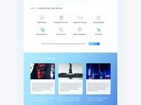 Industries We Serve & Blogs - Agency Website