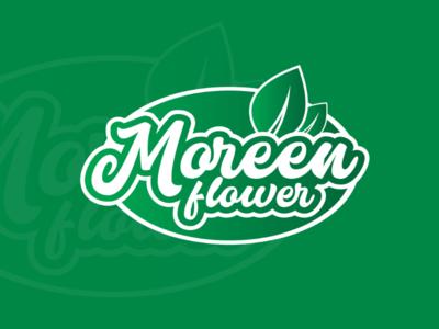Logo for Moreen flower