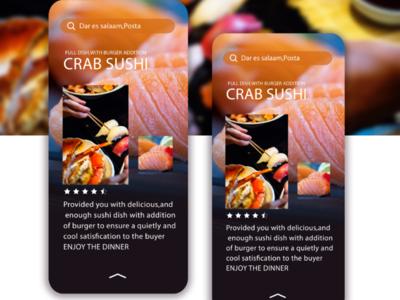 DezhenSushi® App design