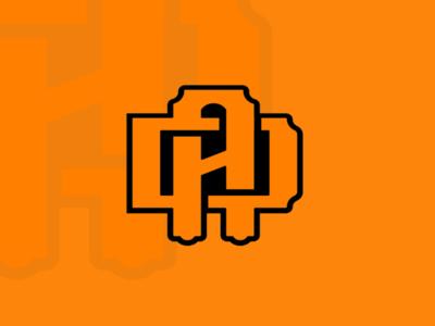 DA monogram