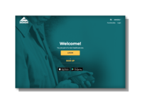 Landingpage for a Client of Healthcare Services