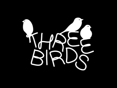 Three Birds natural eco children kids ecommerce apparel fashion clothes brand illustration alphabet type letters lettering logo typography branding identity