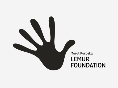 Lemur Foundation wild planet earth save hand animals sign type wordmark font brand letters logo lettering typography branding identity