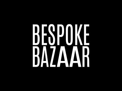 Bespoke Bazaar online digital fineart pop graffiti urban gallery nft artist art typeface logo type font letters lettering brand typography branding identity
