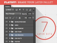PLAYOFF: Share Your Layer Pallet