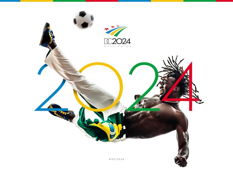 DC2024 Athlete 01 athlete logo stripes stars washington dc summer olympics engage teamengage