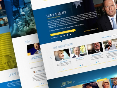 Liberal Party of Australia — Home Page