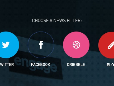 Engage News Filters teamengage news filters social blog feed