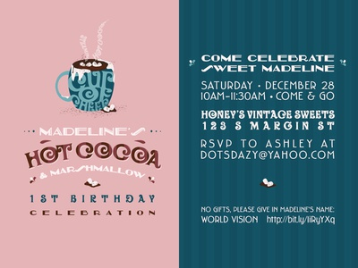 Madeline's Birthday Invitation