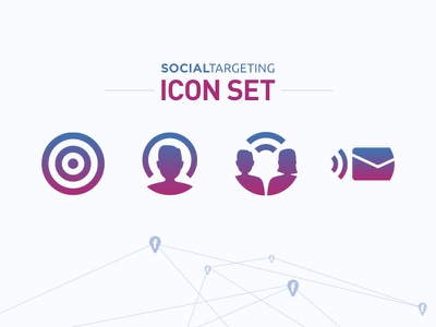Social Targeting • Icon Set icon icons sharing social targeting politics product