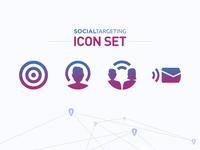 Social Targeting • Icon Set