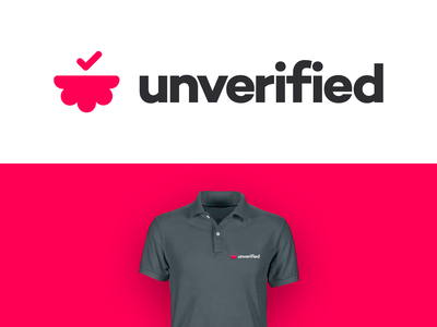 unverified by unfold logo branding verified
