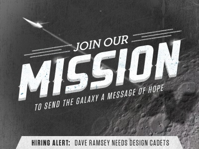 MISSION: Dave Ramsey is hiring designers!