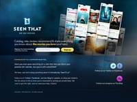 SeenTh.at Beta Signup Page
