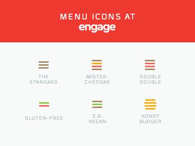 Engage Burgers web navigation nav menu burger hamburger ux ui engage
