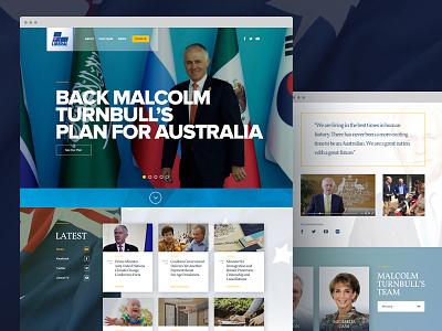 Liberal Party of Australia 2016 australia website interface 2016 election politics