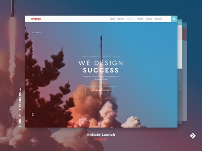 Engage Website Launch 2017 launch website redesign refresh identity anniversary engage design