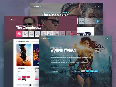 CinemaPlus™ cinema tickets film movies purchase interface ticket movie app