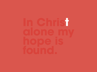 In Christ Alone good friday christianity redeemer christ