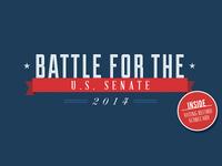 Battle for U.S. Senate cover