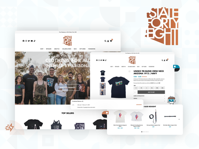 State Forty Eight eCommerce Website ux ui web development woocommerce ecommerce store web design website design