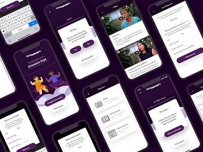 Think Asperger's Mobile App ios android android app design app development android app ios app app design ui ux ui design react native