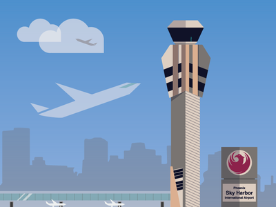 Sky Harbor Tower at Sky Harbor Airport
