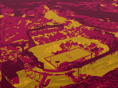 Sun Devil Stadium, Tempe Arizona