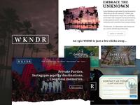 WKNDR HOME PAGE