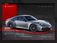 2020 Porsche 911 UI Concept