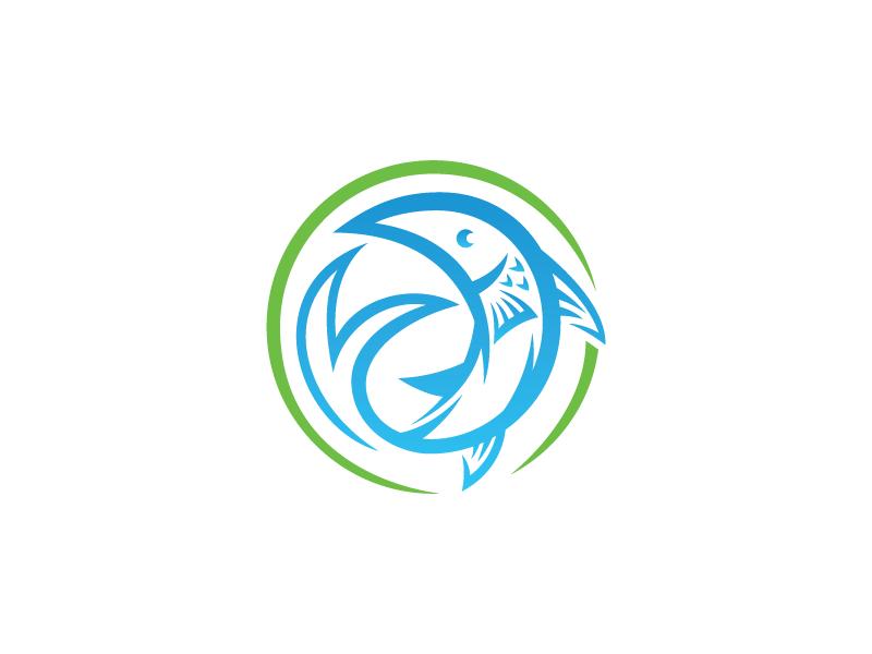 Tags / fish logo - Dribbble