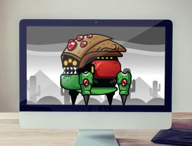 Ancient Robot Sprites Game Asset beast cartoon monster animal ancient indiegamedev gamedev gameasset sprites robot