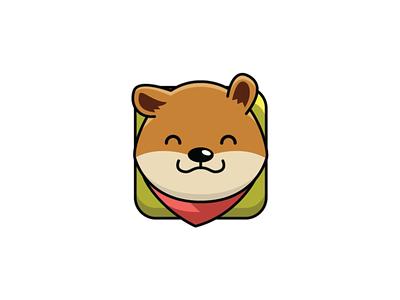 Shiba Inu Logo design template logo logos logomaker mark logomark brandmark brand simple flat designer icon doge coin coin meme shiba inu shiba puppy dog