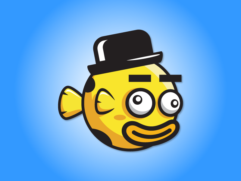 Clown Funny Fish Game Character Sprite Sheet Sidescroller Game Asset Flying Flappy Animation Gui Mobile Games