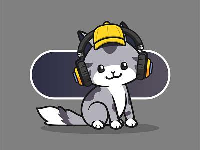 QuietSongCat #002 kittennft catnft petnft nftpet pet nftkitten kitten sugoii cute kawaii nftcute nftkawaii nftcat cat