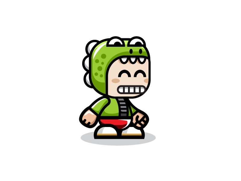 Design A Cartoon Character Game : Crocodile boy game character sprite sheets by bevouliin