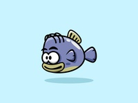 Fish game character for game developers