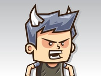 Mad Devil Boy: Running Jumping Game Character Sprite Sheets